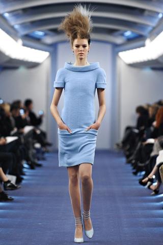 La tendance du bleu pour le printemps été 2012 se confirme
