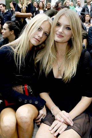Le look beauté des stars lors de la Fashion Week printemps été 2012