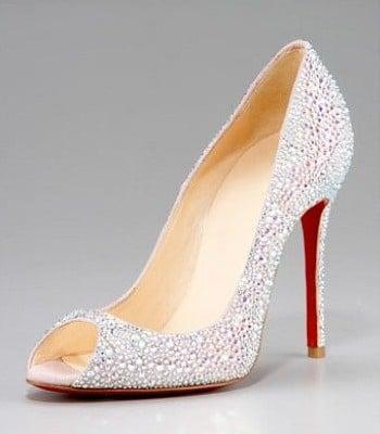 louboutin chaussures de mariée