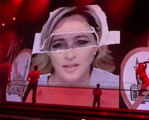 Madonna s'attaque à Marine Le Pen