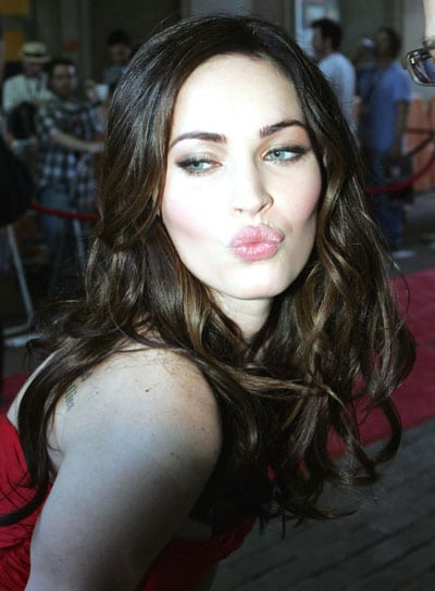 Le look beauté de Megan Fox à la première de Friends With Kids