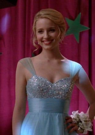 Coup de coeur : La robe bleue de Dianna Agron dans Glee