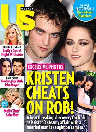 Kristen Stewart a trompé Robert Pattinson avec un homme marié