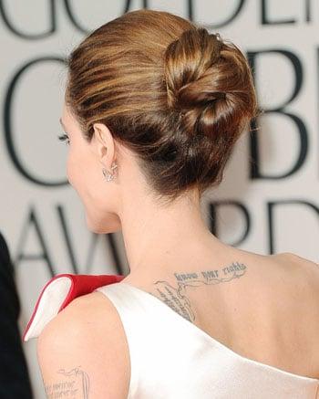 Les plus belles coiffures des Golden Globes Awards 2012