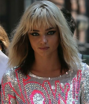 Miranda Kerr sublime en blonde !