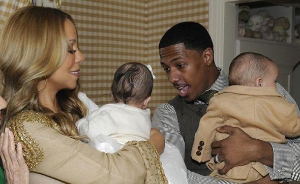 Mariah Carey : La première image de ses jumeaux !