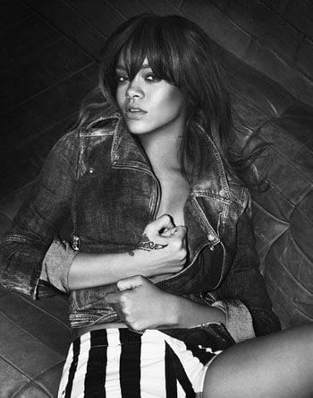 Rihanna sexy pour la nouvelle campagne de sous vêtements Armani