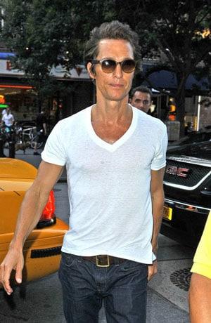 Matthew McConaughey très amaigri pour les besoins d'un film