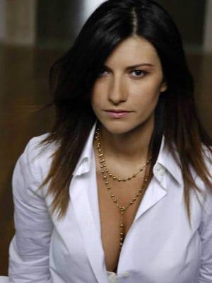 Laura Pausini enceinte d'une petite fille