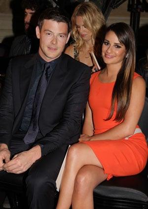 Lea Michele et Cory Monteith : Un couple glamour au show Versace