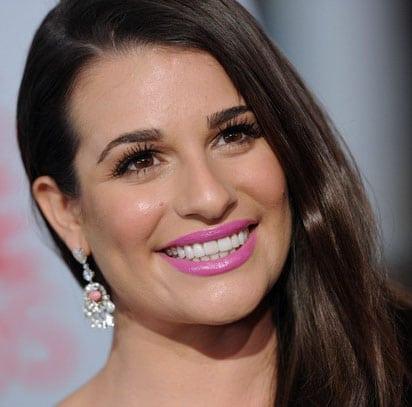 Le rouge à lèvres mauve de Lea Michele aux People's Choice Awards