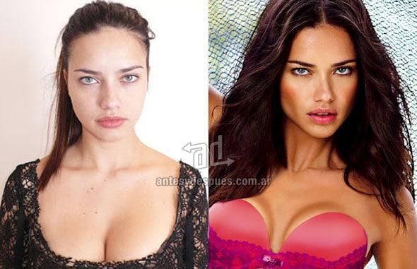 Découvrez les plus grands tops modèles sans maquillage