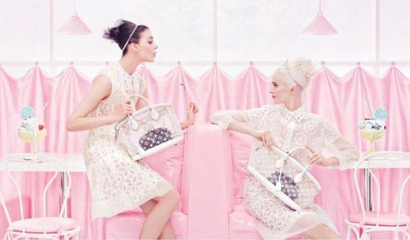 Focus sur la délicieuse campagne Louis Vuitton printemps 2012