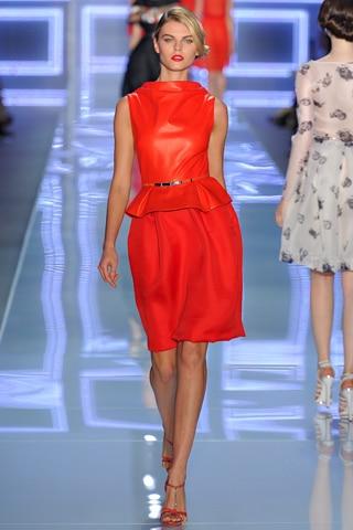 Christian Dior printemps été 2012 : Le orange tendance toujours en 2012 ?