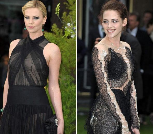 Charlize Theron et Kristen Stewart à la première mondiale de Blanche Neige