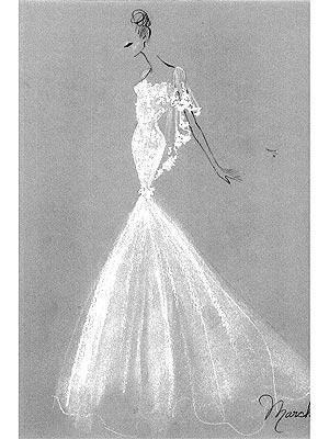 Tous les détails sur la robe de mariée de Molly Sims