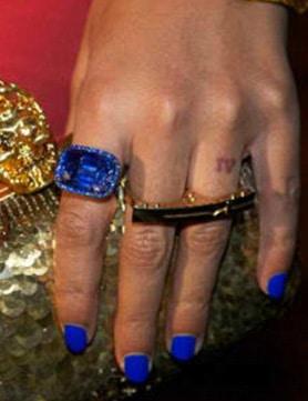 Beyoncé dévoile son vernis spécial pour Blue Ivy