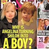 Angelina Jolie : Shiloh voudrait être un petit garçon !