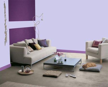 Le violet s'affiche comme la couleur déco tendance de 2012