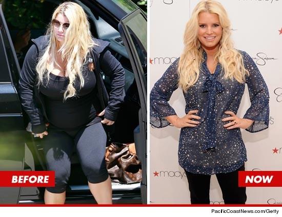 Jessica Simpson dévoile sa spectaculaire perte de poids