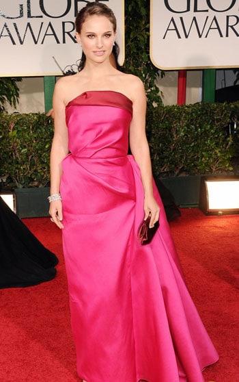 Natalie Portman aux Golden Globes Awards 2012