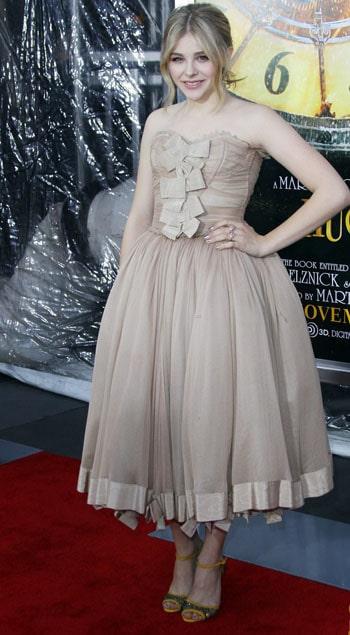Je veux le look de Chloé Moretz pour Noël !