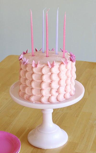 Réaliser un gâteau d'anniversaire girly original