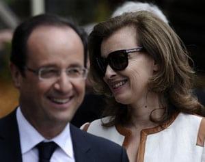 Une dispute entre Hollande et Trierweiler serait à l'origine du tweet polémique