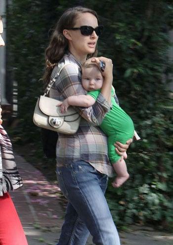 Les premières photos de Aleph, le bébé de Natalie Portman