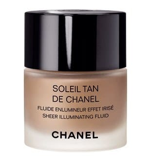 Soleil tan fluide enlumineur Chanel swatch, test, photos