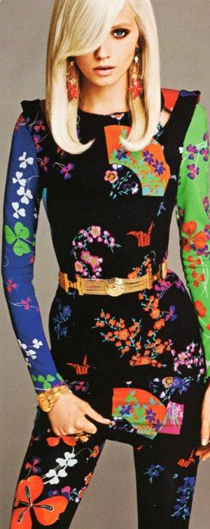 Premier aperçu de la collection Versace pour H&M
