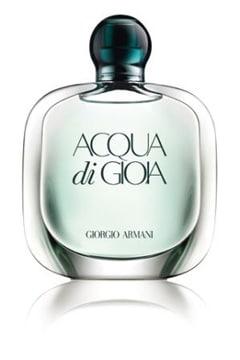 Acqua di gioia, le nouveau parfum féminin par Giorgio Armani