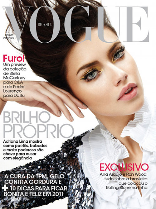 Adriana Lima Vogue Brasil