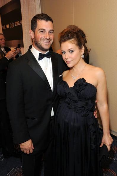 Alyssa Milano et Dave Bugliari