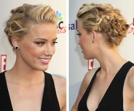 Le chignon sophistiqué parfait de Amber Heard