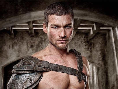 Andy Whitfield spartacus blood and sand
