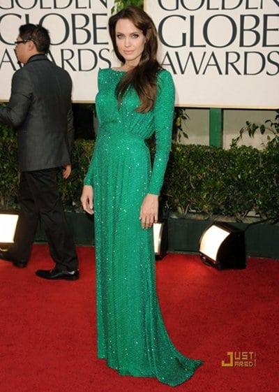 Angelina Jolie & Brad Pitt Golden Globes 2011