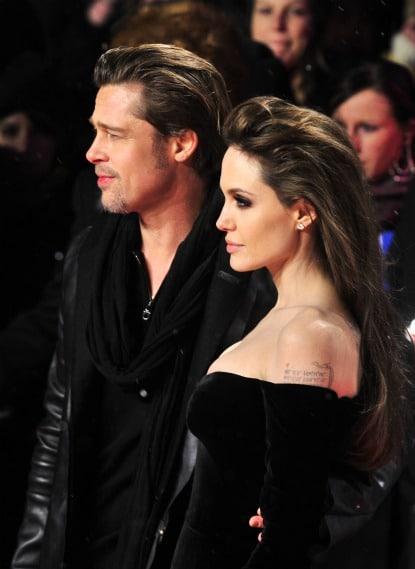 Angelina Jolie coiffure