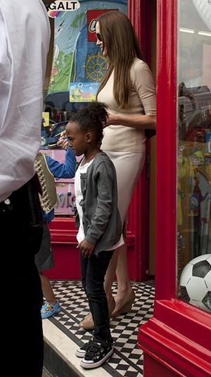 Angelina Jolie et Zahara