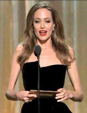 Angelina Jolie maigre