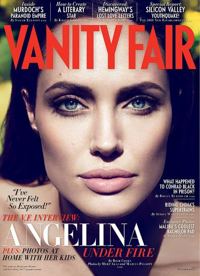 Angelina Vanity Fair octobre 2011