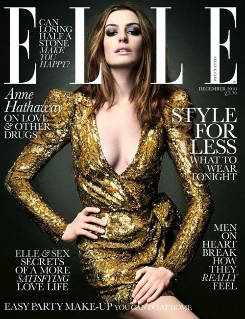 Anne Hathaway Elle