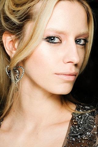 L'eyeliner vu au défilé Armani automne 2011