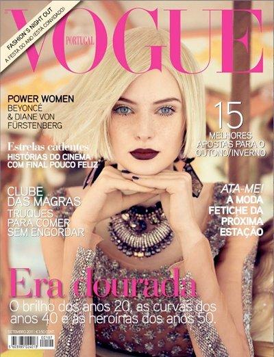 Auguste Abeliunaite Vogue Portugal septembre 2011