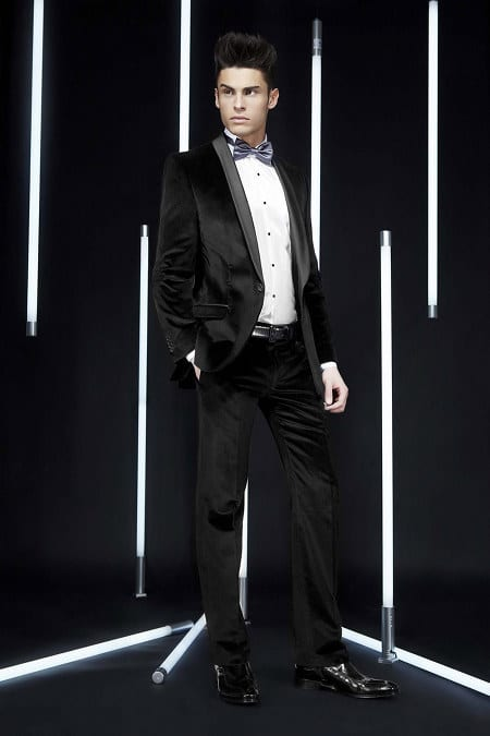 Collection Karl Lagerfeld automne hiver 2011 2012 avec Baptiste Giabiconi