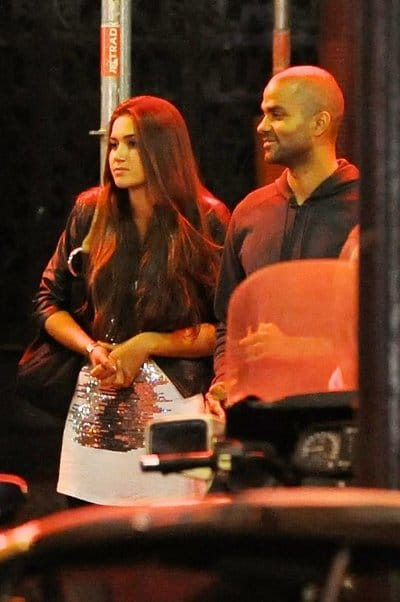 Barbara Morel & Tony Parker