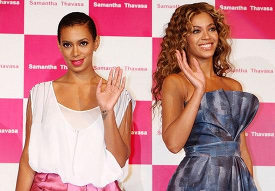 Beyonce et Solange Knowles