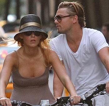Leonardo DiCaprio et Blake Lively en ballade à vélo dans New-York