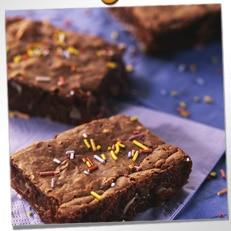 Brownies aux amandes craquantes