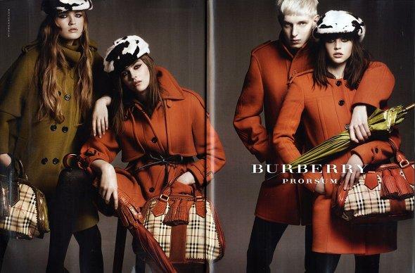 Burberry campagne publicitaire automne 2011